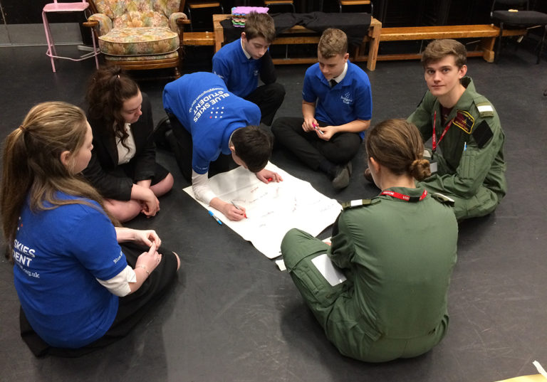 SUAS students support JET with the Isle of Wight Challenge