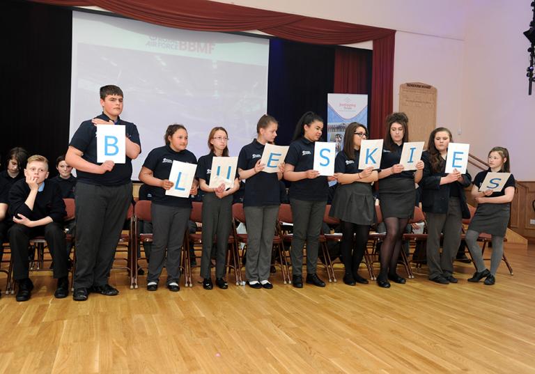 Blue Skies Students' Final Presentation