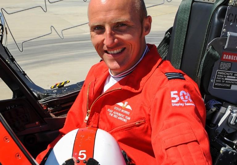 Flt Lt Steve Morris (Red 7) Inspirational Mentor