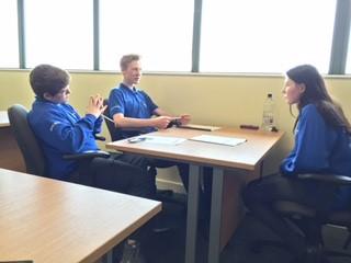 Level 3 students' work skills flourish with help from Northrop
