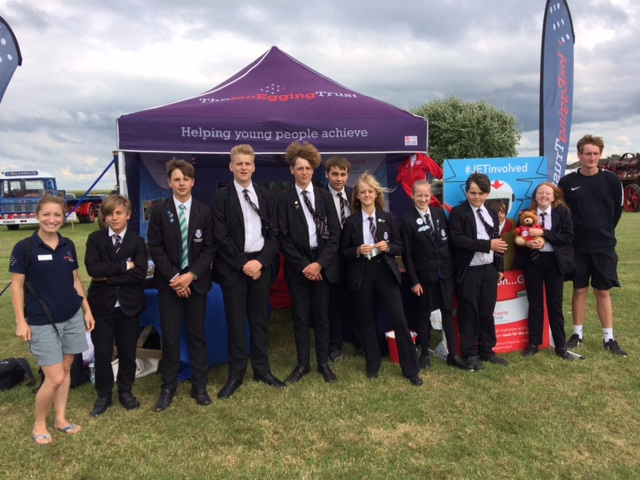 The Lincolnshire Show: Supporting JET's young people
