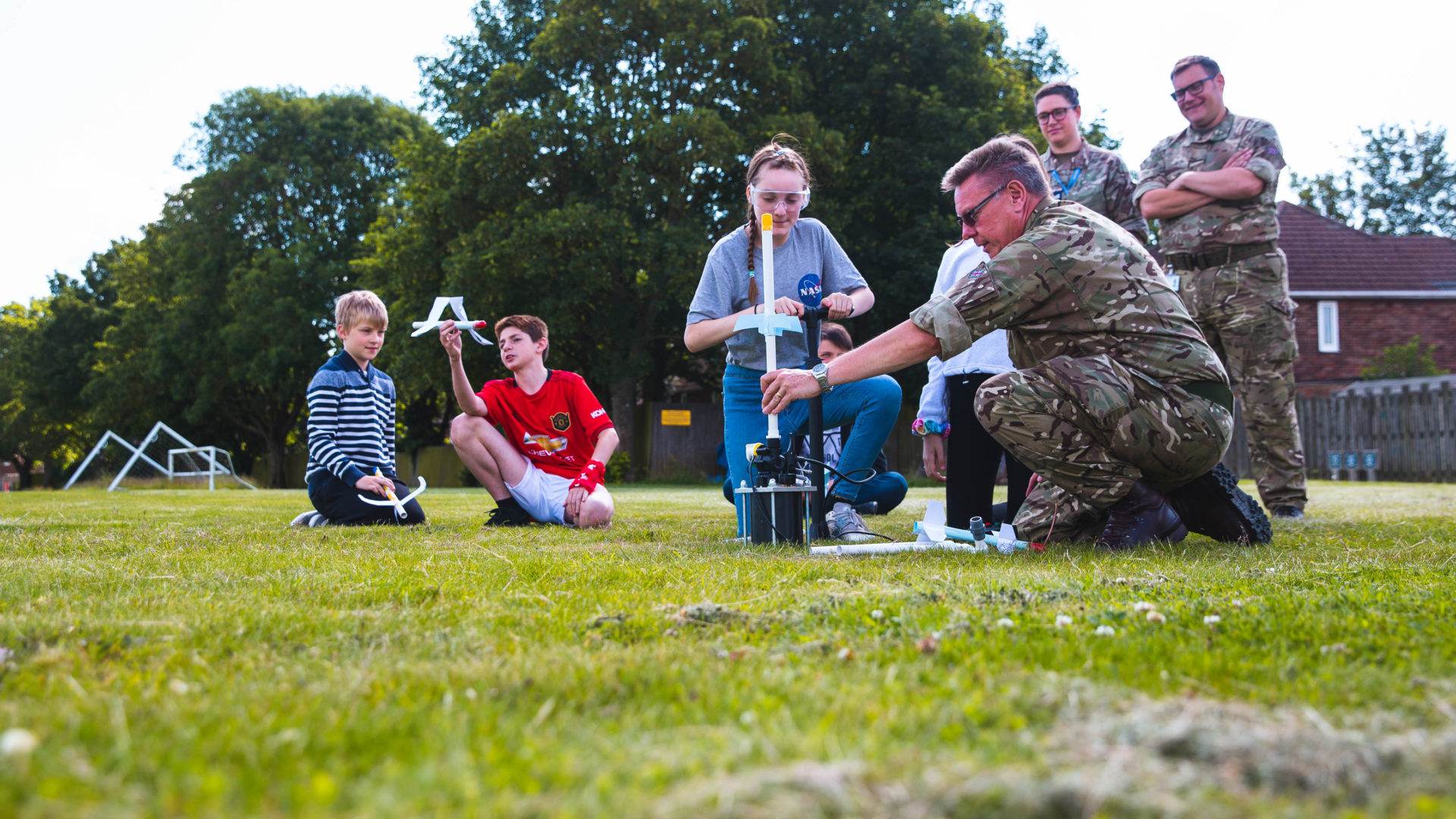 New JET partnership with RAF Wittering off to a flying start!