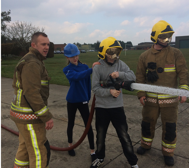 Blue Skies Level 2 learn from fire crews