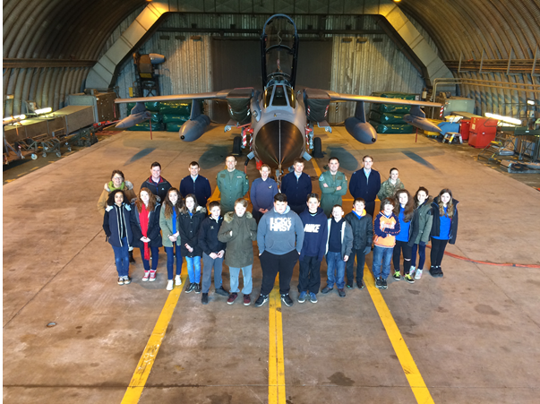 Level 1 Students Attend RAF Marham For First Time