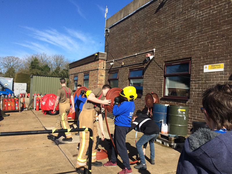 Blue Skies Level 2 students blaze a trail with leadership skills