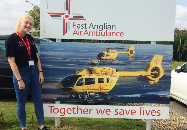 Blue Skies opens eyes to life-saving career opportunity