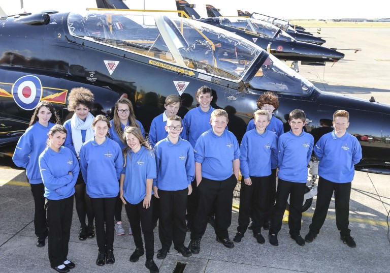 Blue Skies Inspiration Day at RAF Valley