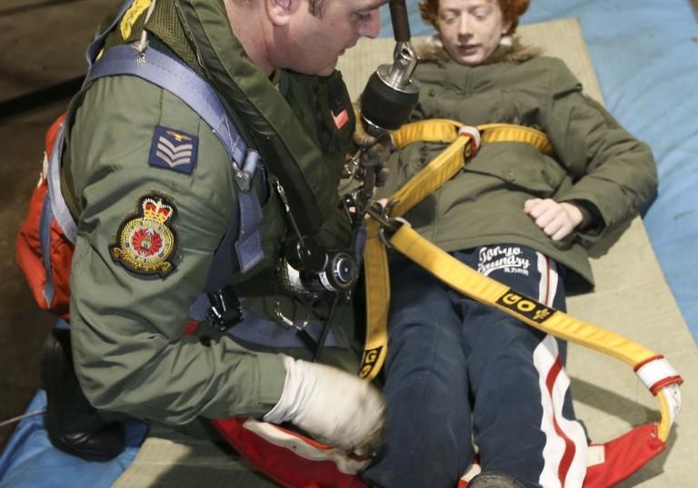 Team work at RAF Valley