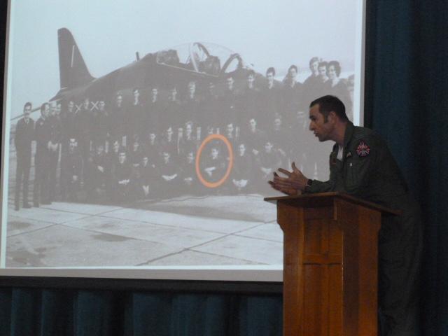 Inspirational Outreach assembly held at Ysgol Uwchradd Caergybi