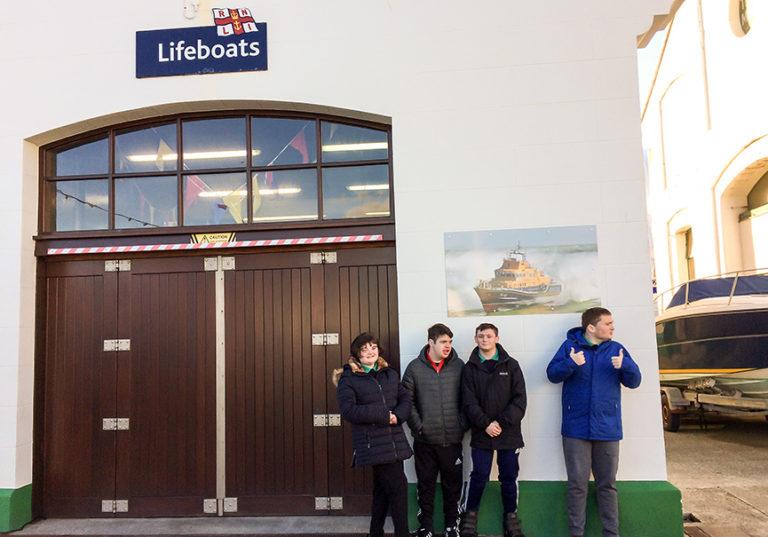 CAYB visit Holyhead Lifeboat Station