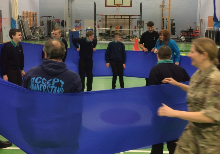CAYB build teamwork and confidence at RAF Valley