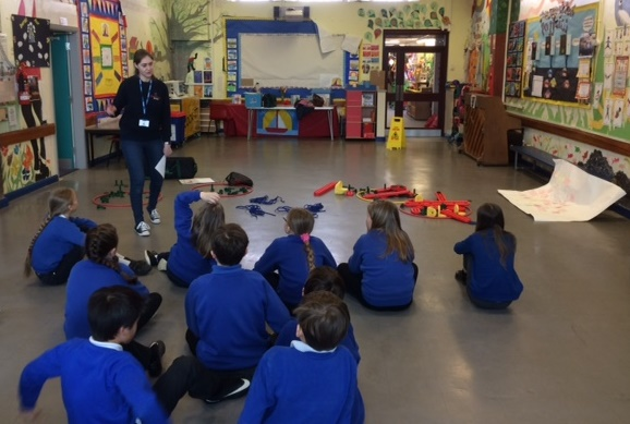 Ysgol Rhosneigr pupils think outside the box