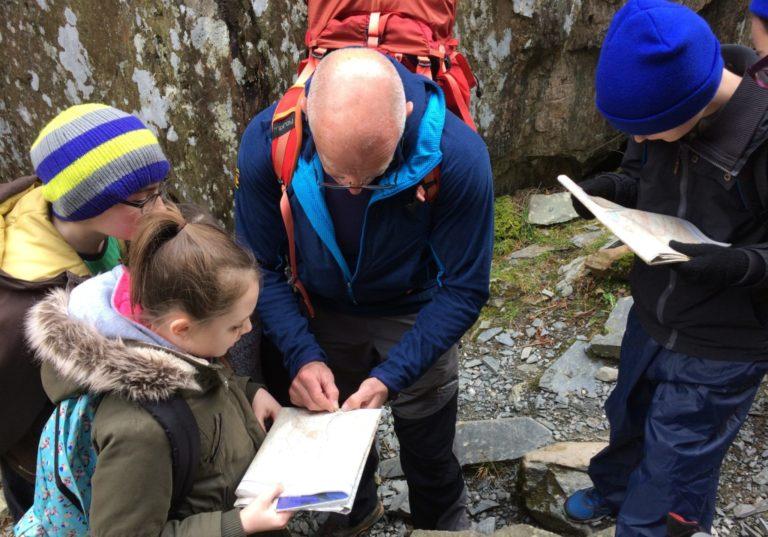 Navigating in Cwm Idwal