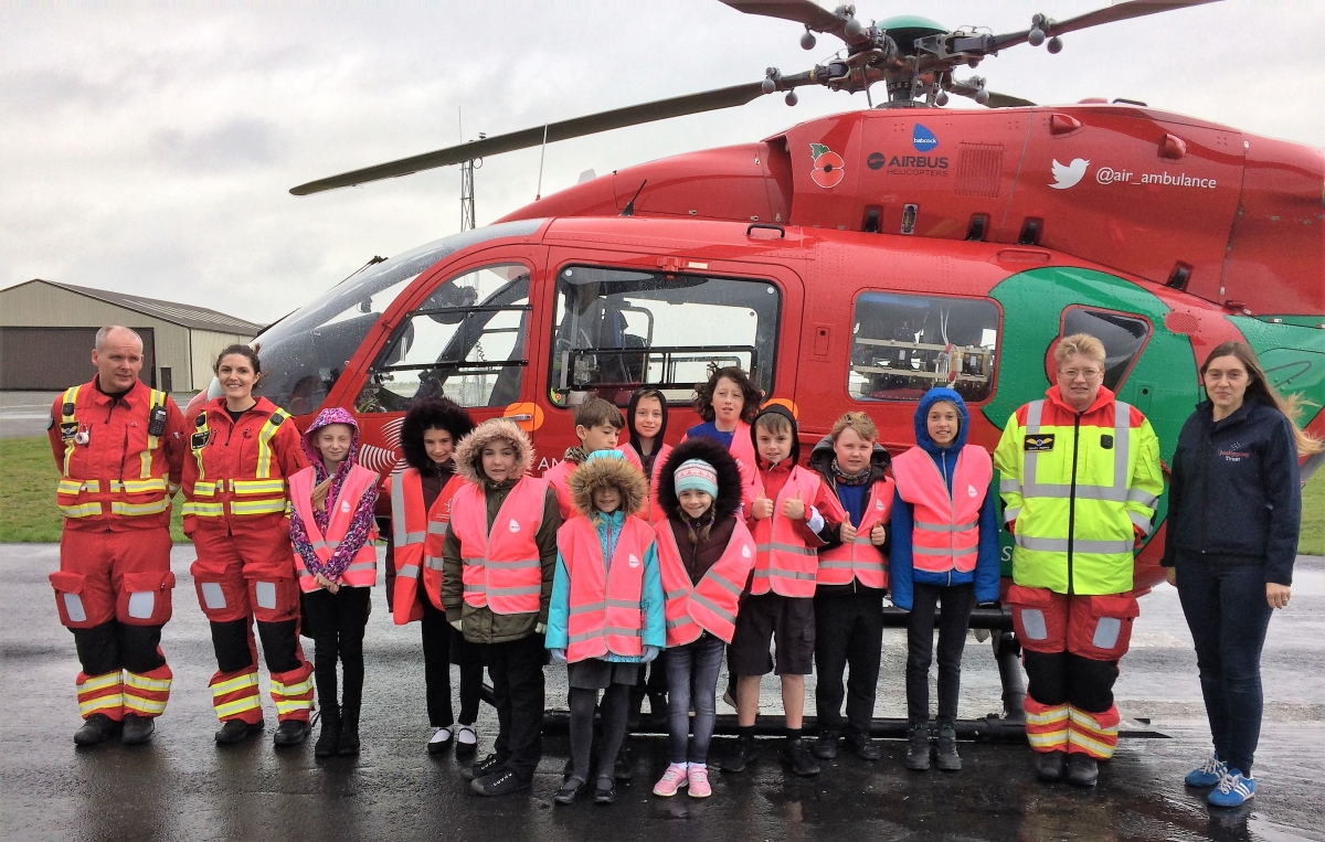 New partnership with Welsh Air Ambulance