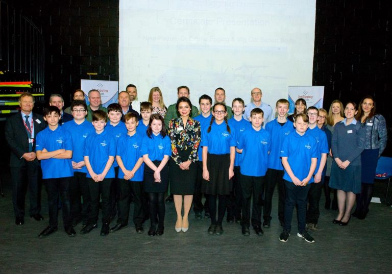 First graduation ceremony for Oxfordshire Blue Skies students