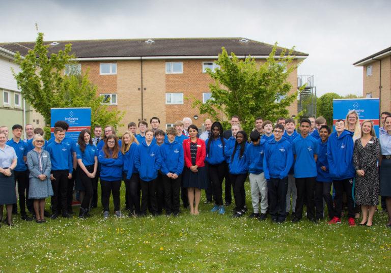 Oxfordshire Blue Skies Students Graduate!