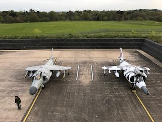 Photo shoot at RAF Cosford