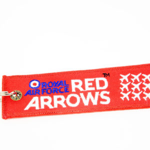 Red Arrows fabric lanyard