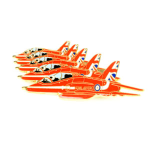 Red Arrows formation pin badge