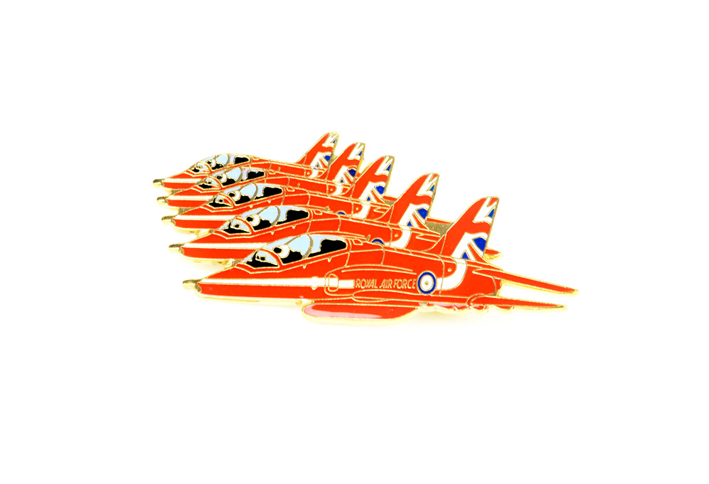 Red Arrows pin badge (Reds formation)