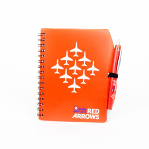 Red Arrows note book