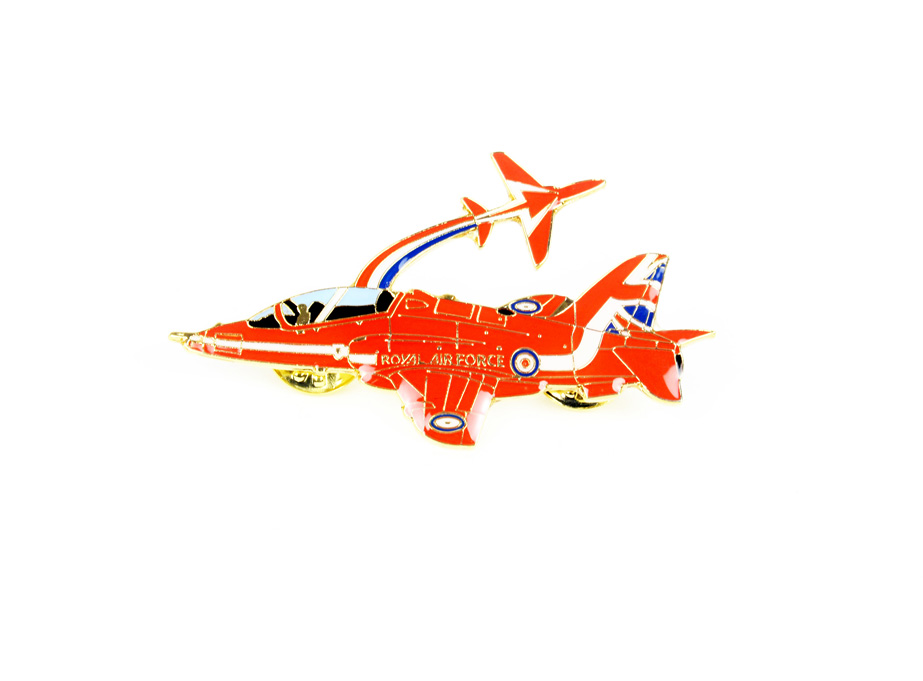 Red Arrows pin badge (2 Red Arrows)