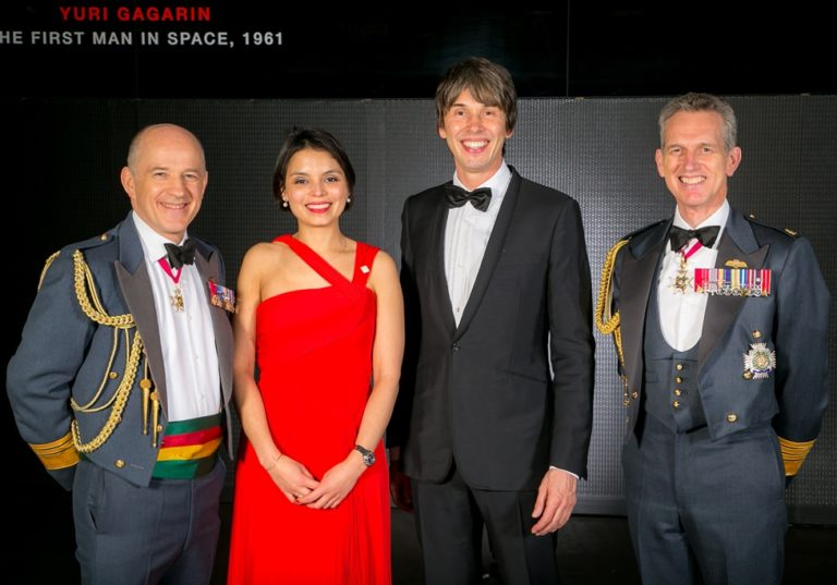 Professor Brian Cox and the Red Arrows send JET's Fifth Anniversary Dinner to the Stars