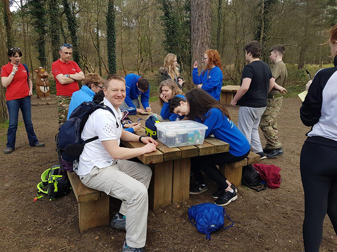 Martin on volunteering with JET's Inspirational Outreach Programme and Fundraising in Dorset