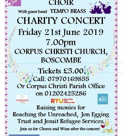 Charity Concert with St Peter's Community Choir