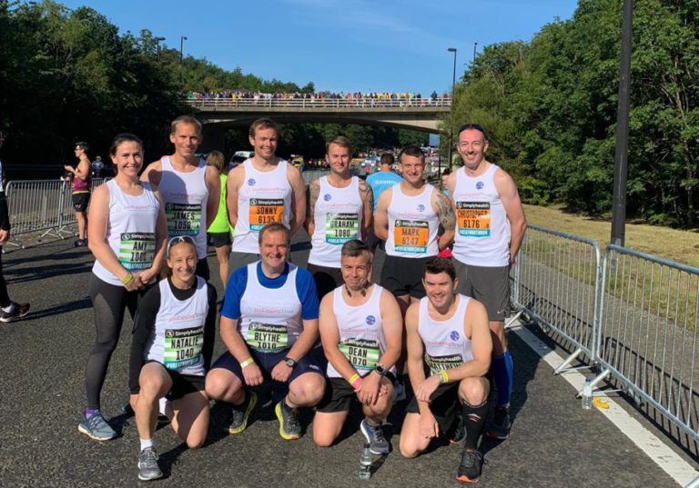 JET Supporters raise more than £10k at Great North Run