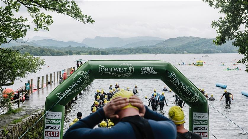John West Great North Swim