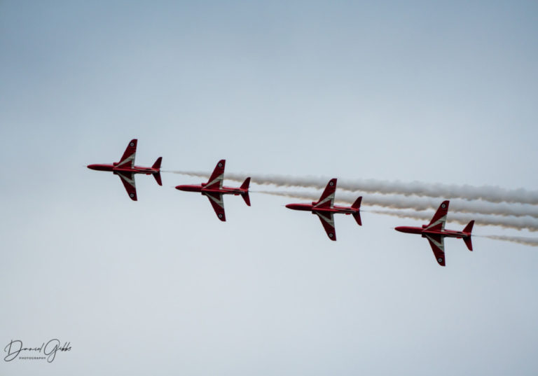 Red Arrows JET off to raise funds at photo shoot