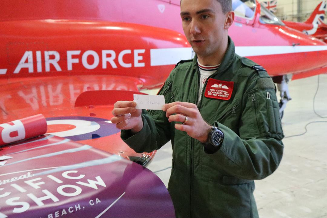 Red Arrows join forces with JET supporters to raise funds