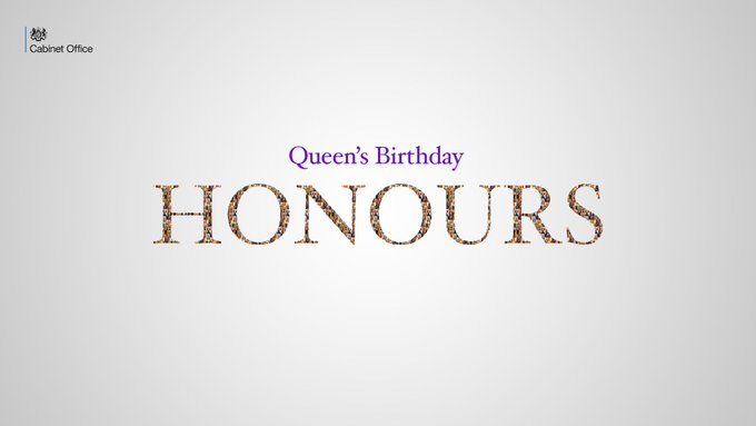 Queen's Birthday Honours for Patrons