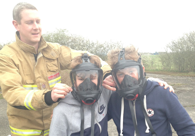 Team building exercises at RAF Linton-on-Ouse 13th May