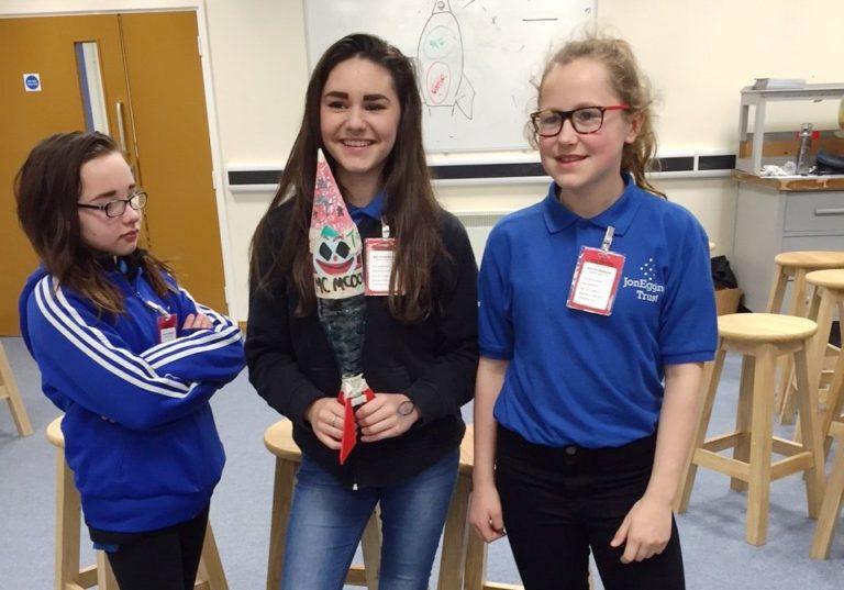 York High School students rocket towards Level 1