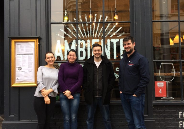 Ambiente Tapas names Jon Egging Trust as its Charity of the Month for February
